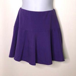 Lands end girls scooter skirt built in shorts